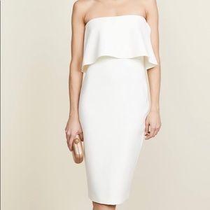 LIKELY Driggs white Midi Dress